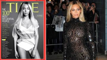 Beyonce appears on the cover of Time magazines 100 Most Influential People cover, released on April 24, 2014. / Beyonce appears at the SVA Theater in New York City on Dec. 21, 2013. - Provided courtesy of Time magazine / Time Humberto Carreno / Startraksphoto.com
