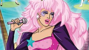 A publicity photo of the season 3 DVD of the 1980s show Jem. The cast of the movie adaptation was announced on April 24, 2014. - Provided courtesy of Shout! Factory / Marvel Productions