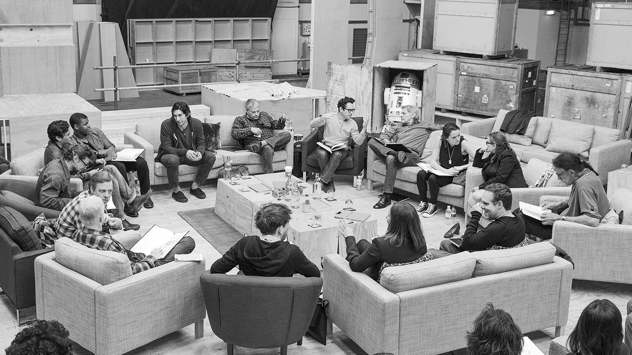 The Star Wars: Episode VII cast includes John Boyega, Daisy Ridley, Adam Driver, Oscar Isaac, Andy Serkis, Domhnall Gleeson, Max von Sydow, Harrison Ford, Carrie Fisher, Mark Hamill, Anthony Daniels, Peter Mayhew and Kenny Baker.