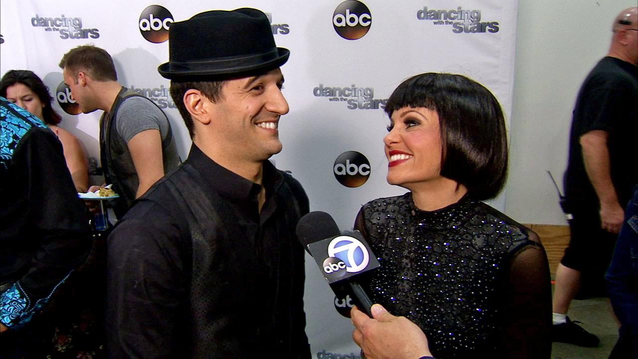 Candace Cameron Bure and Mark Ballas talk to OTRC.com after week 9 on Dancing With The Stars season 18 on May 12, 2014.