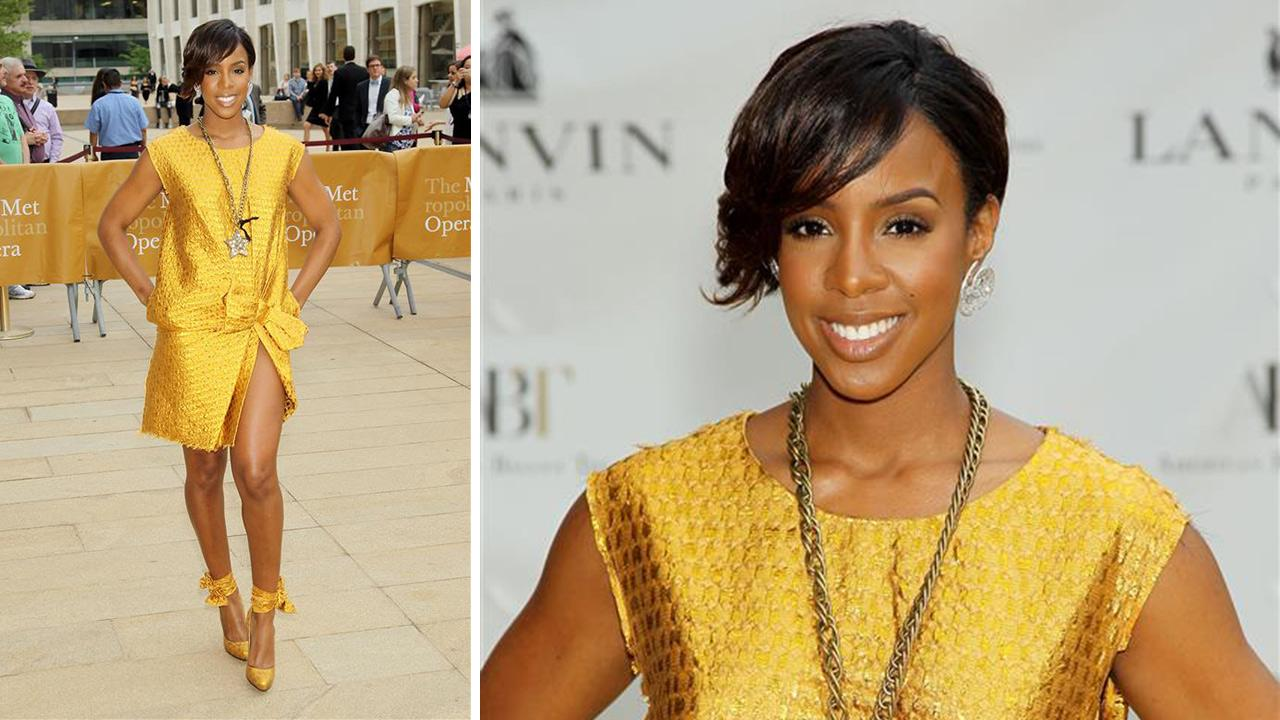 Kelly Rowland appears at the American Ballet Theatres 2014 Opening Night Spring Gala in New York on May 12, 2014. Us Weekly reported that day that she wed Tim Witherspoon on May 9. The two have not commented.