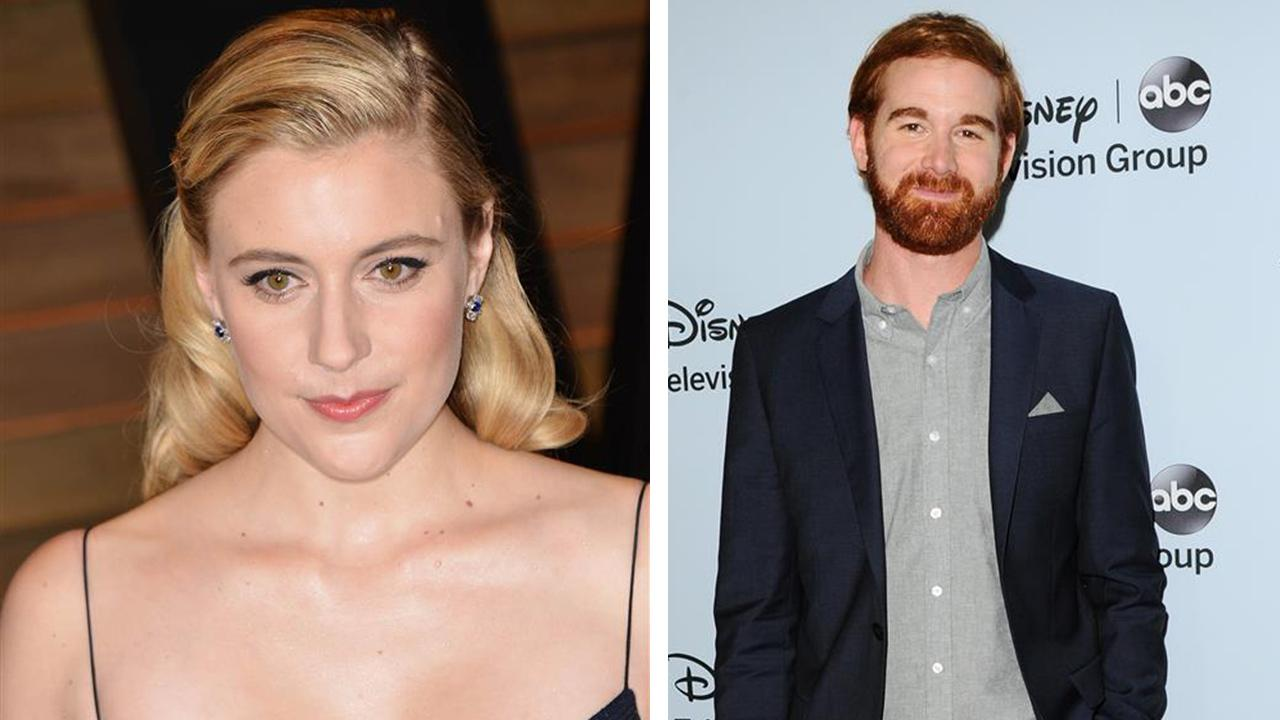 Greta Gerwig appears at Vanity Fairs Oscars 2014 after party on March 2, 2014. / Andrew Santino appears at ABCs Winter 2014 TCA Press Tour in Jan. 17, 2014. / They filmed a How I Met Your Dad for CBS, although the network reportedly passed on it.