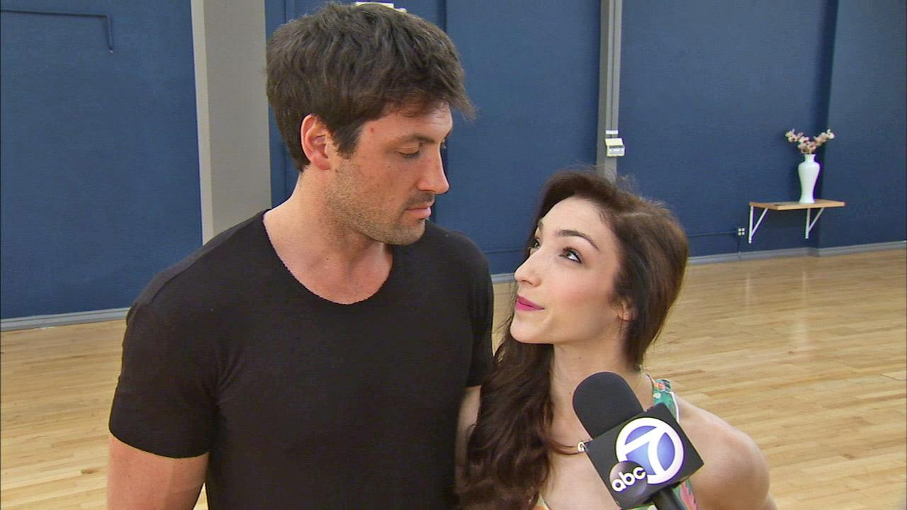 Meryl Davis and Maksim Chmerkovskiy talk to OTRC.com on May 15, 2014.