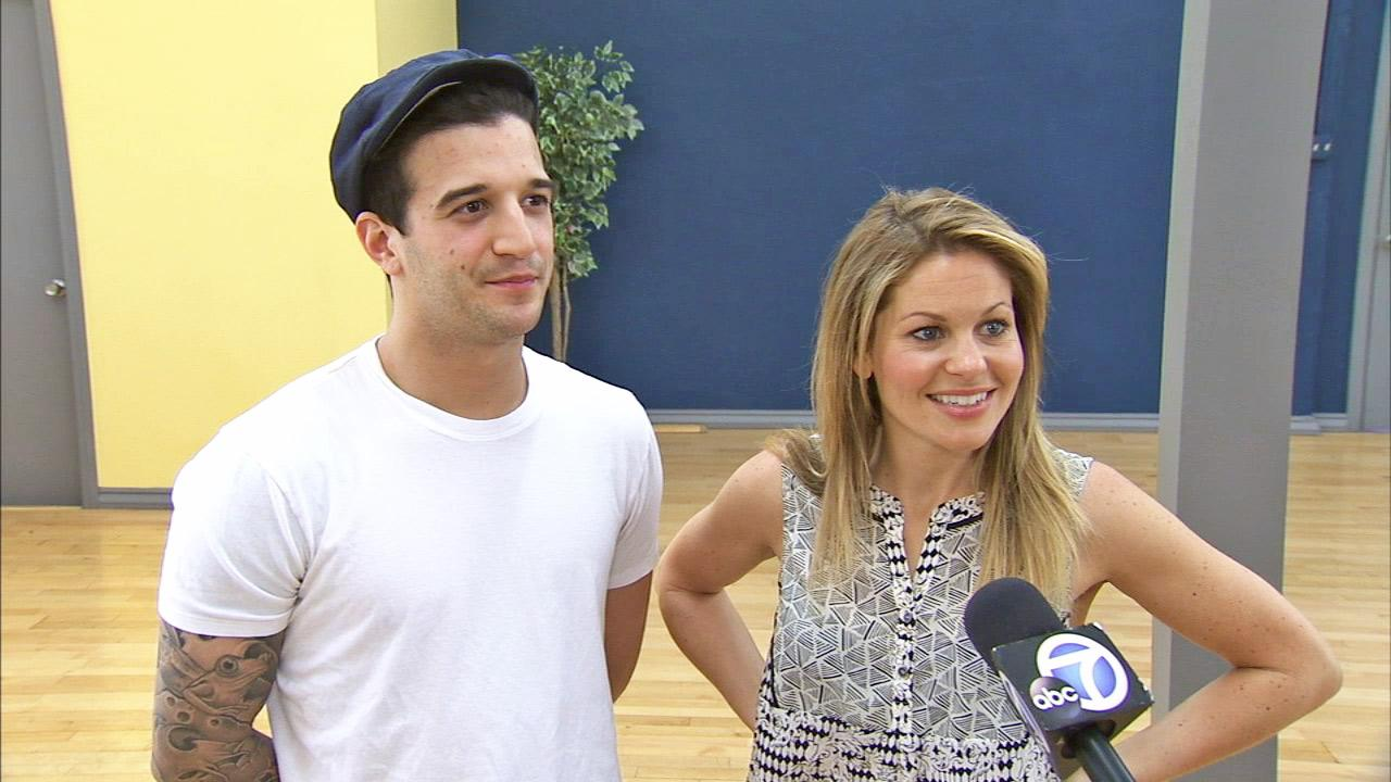Candace Cameron Bure and Mark Ballas talk to OTRC.com on May 15, 2014.
