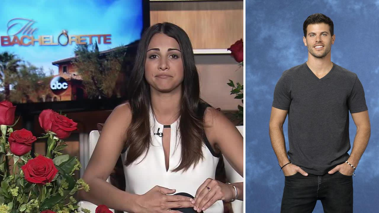 Andi Dorfman talks about Eric Hill, a contestant who died before the premiere of season 10 of The Bachelorette. The show returned on May 19, 2014.