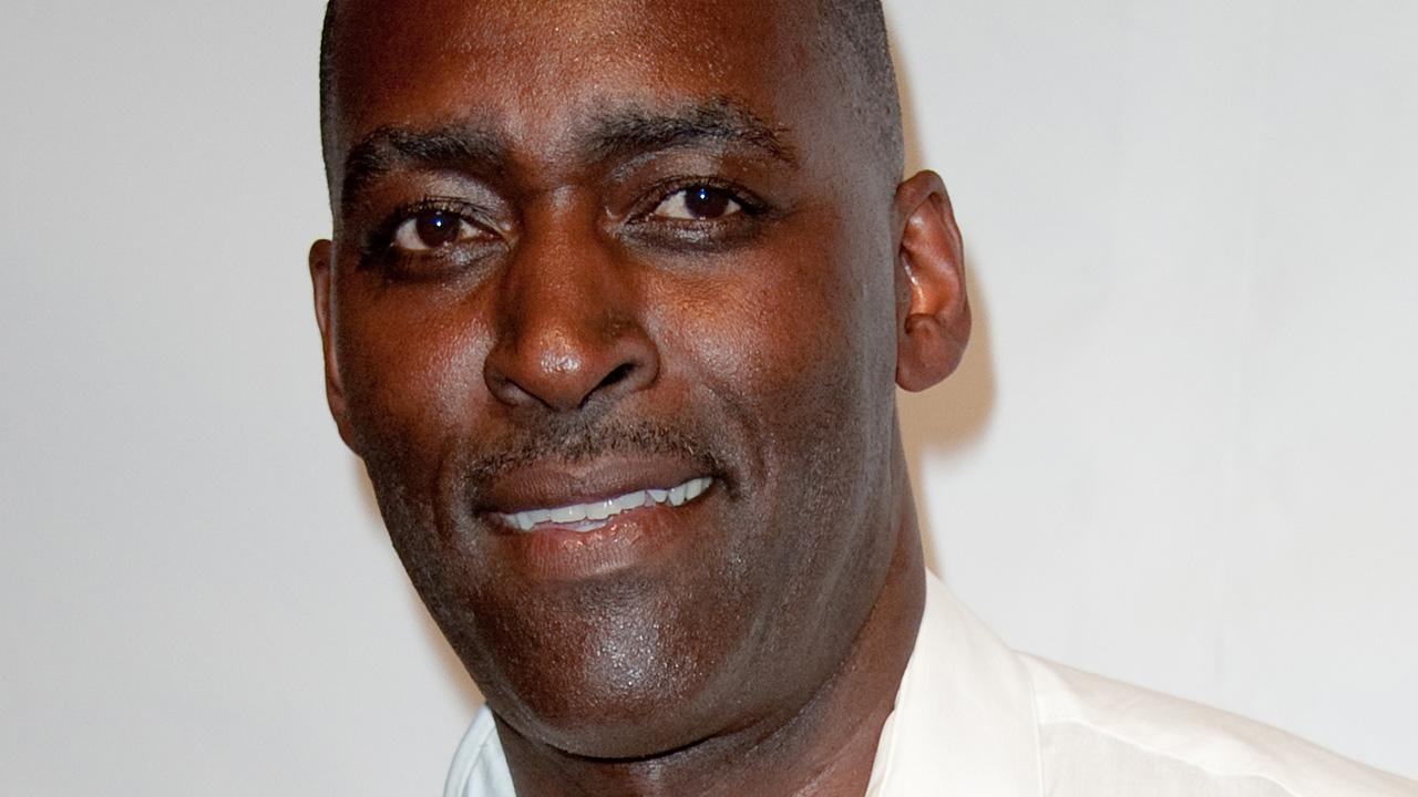In this Oct. 6, 2012 photo, actor Michael Jace attends WordTheatre presents Storytales at Ford Amphitheatre in Los Angeles. Police are questioning Jace after his wife was found dead in their home on Monday, May 19, 2014.