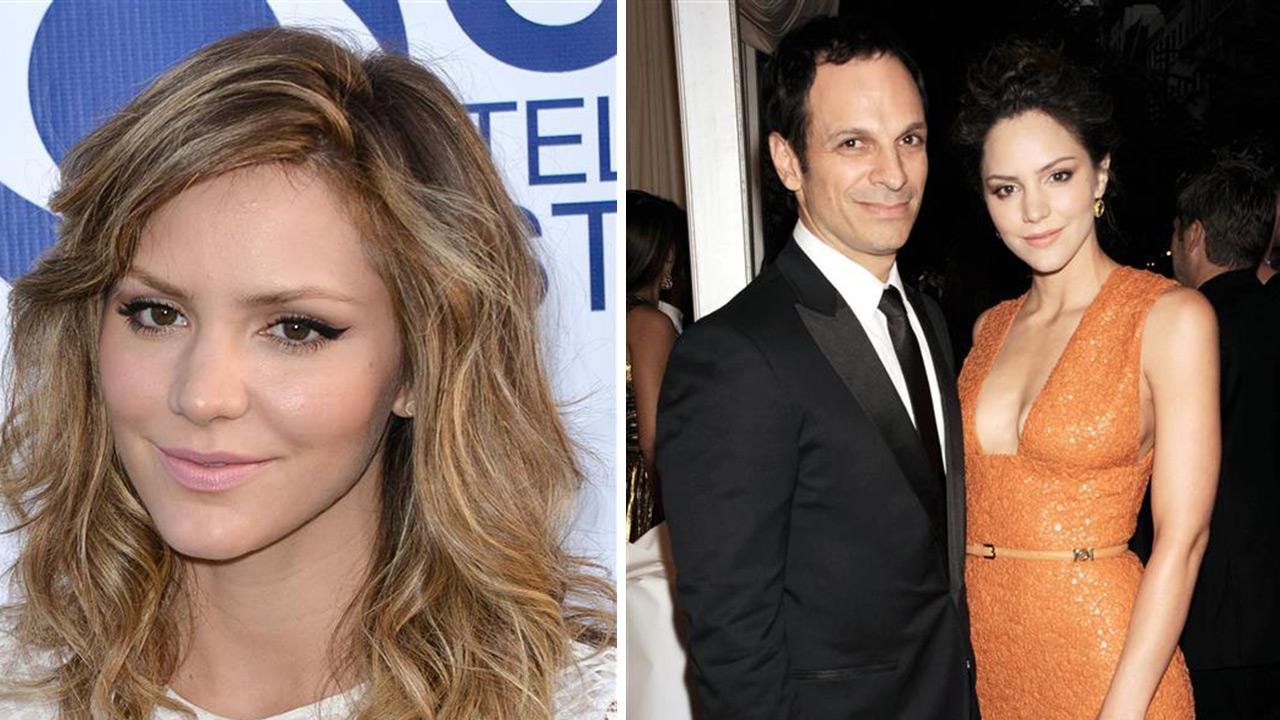 Katharine McPhee appears at CBS Studios Summer Soiree in West Hollywood, California on May 19, 2014. /  Katharine McPhee and husband Nick Cokas appear at the Schiaparelli And Prada: Impossible Conversations Costume Institute Gala on May 7, 2012. <span class=meta>(Tony DiMaio &#47; Bill Davila &#47; Startraksphoto.com)</span>