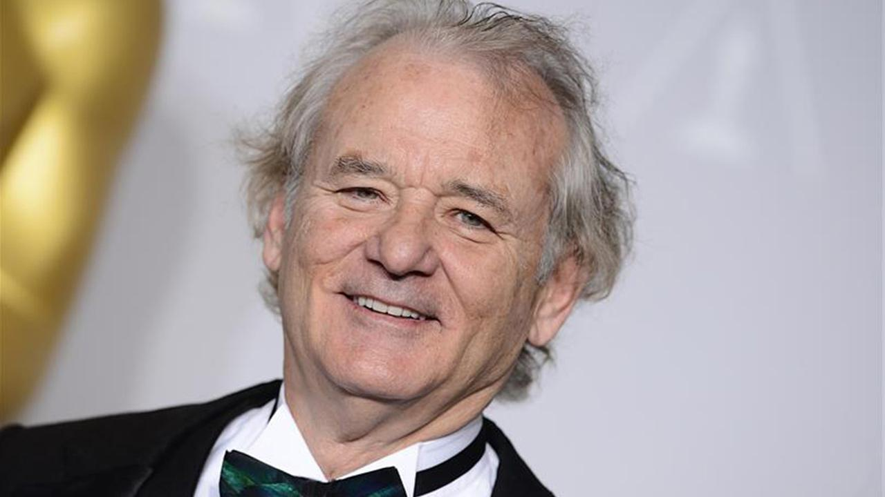 Bill Murray appears at the 86th Academy Awards on March 2, 2014.