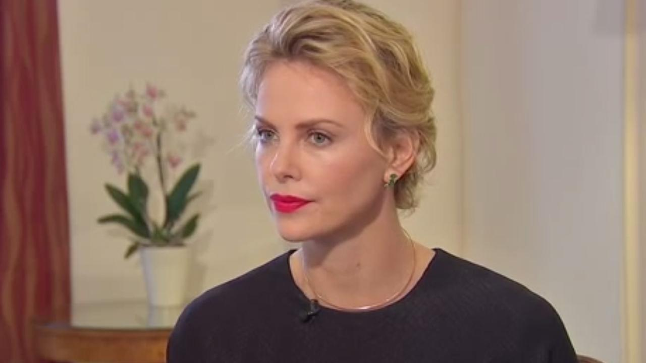 Charlize Theron appears in an interview with the U.K. outlet Sky News which was published on May 30, 2014.