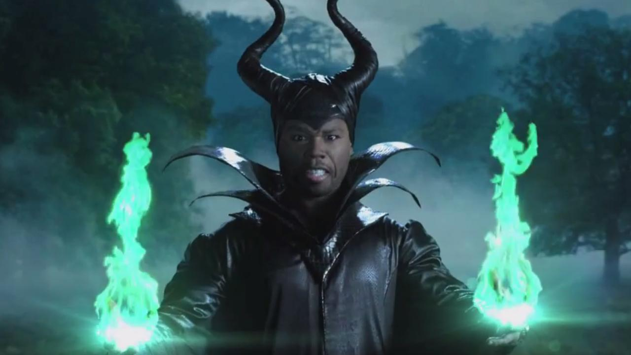 50 Cent appears in a scene from a spoof that aired during his guest spot on Jimmy Kimmel Live on June 5, 2014.