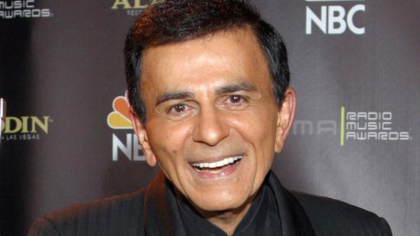 In this Oct. 27, 2003 file photo, Casey Kasem poses for photographers after receiving the Radio Icon award during The 2003 Radio Music Awards at the Aladdin Resort and Casino in Las Vegas. - Provided courtesy of AP Photo/Eric Jamison, File
