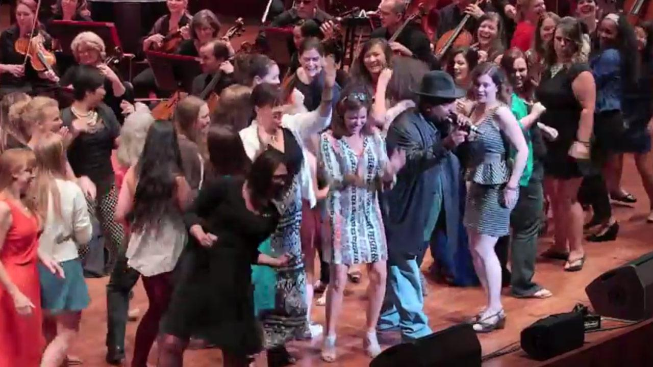 Sir-Mix-A-Lot appears with the Seattle Symphony for their Sonic Evolution series on June 6, 2014.