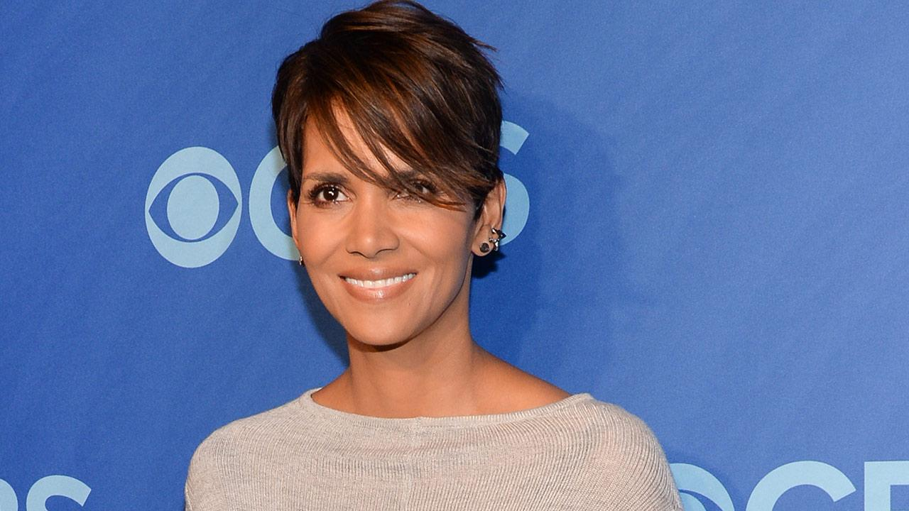 Actress Halle Berry attends the CBS Network Upfront presentation at Lincoln Center on Wednesday, May 14, 2014, in New York.