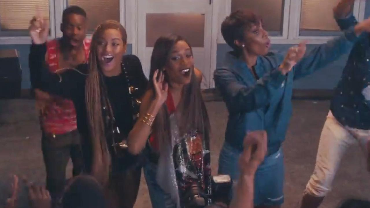 Beyonce, Michelle Williams and Kelly Rowland appear in the video for Say Yes, which was released on June 18, 2014.