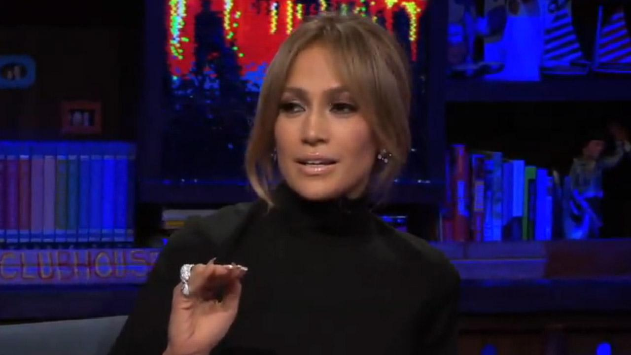 Jennifer Lopez appears on Watch What Happens Live on June 19, 2014.