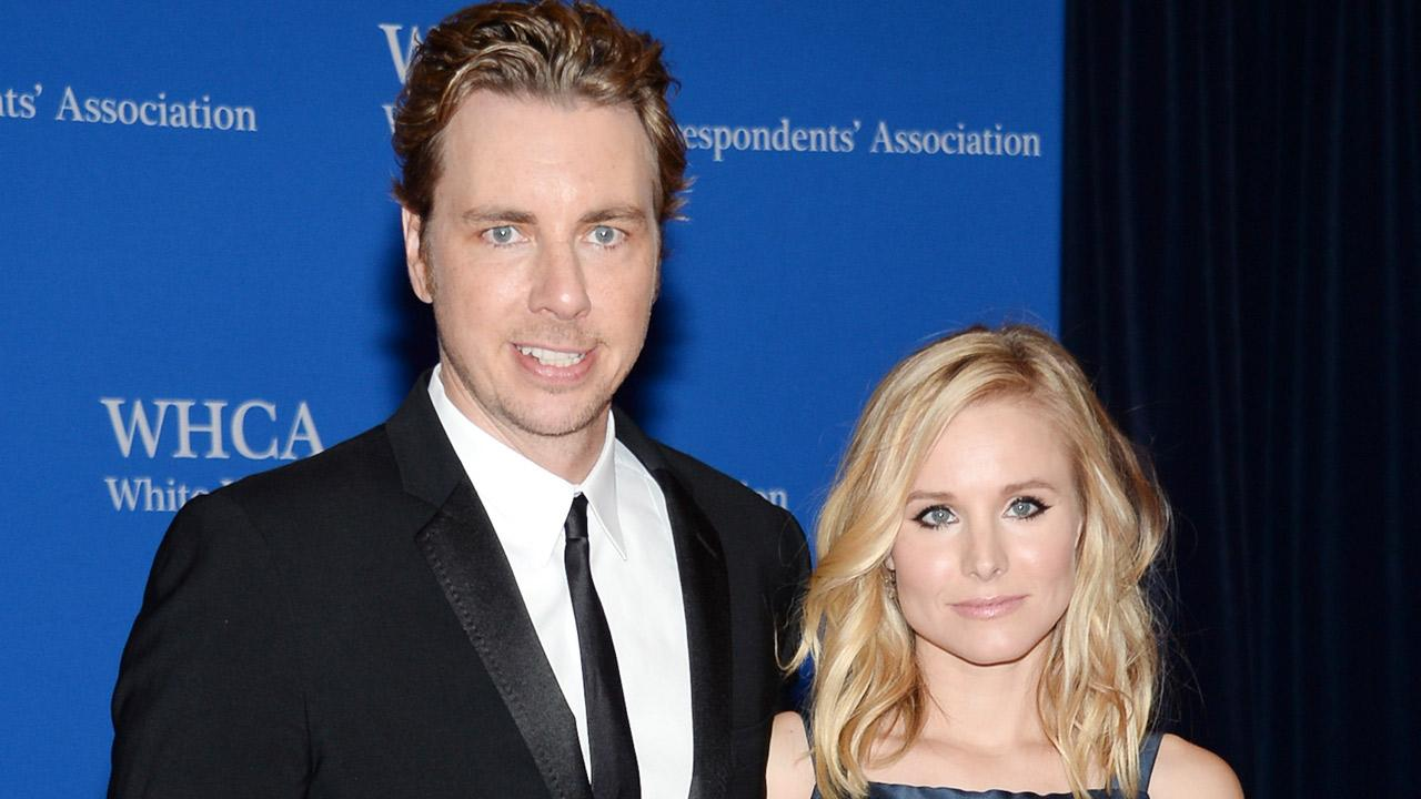 Dax Shepard and Kristen Bell attend the White House Correspondents Association Dinner at the Washington Hilton Hotel, Saturday, May 3, 2014, in Washington.