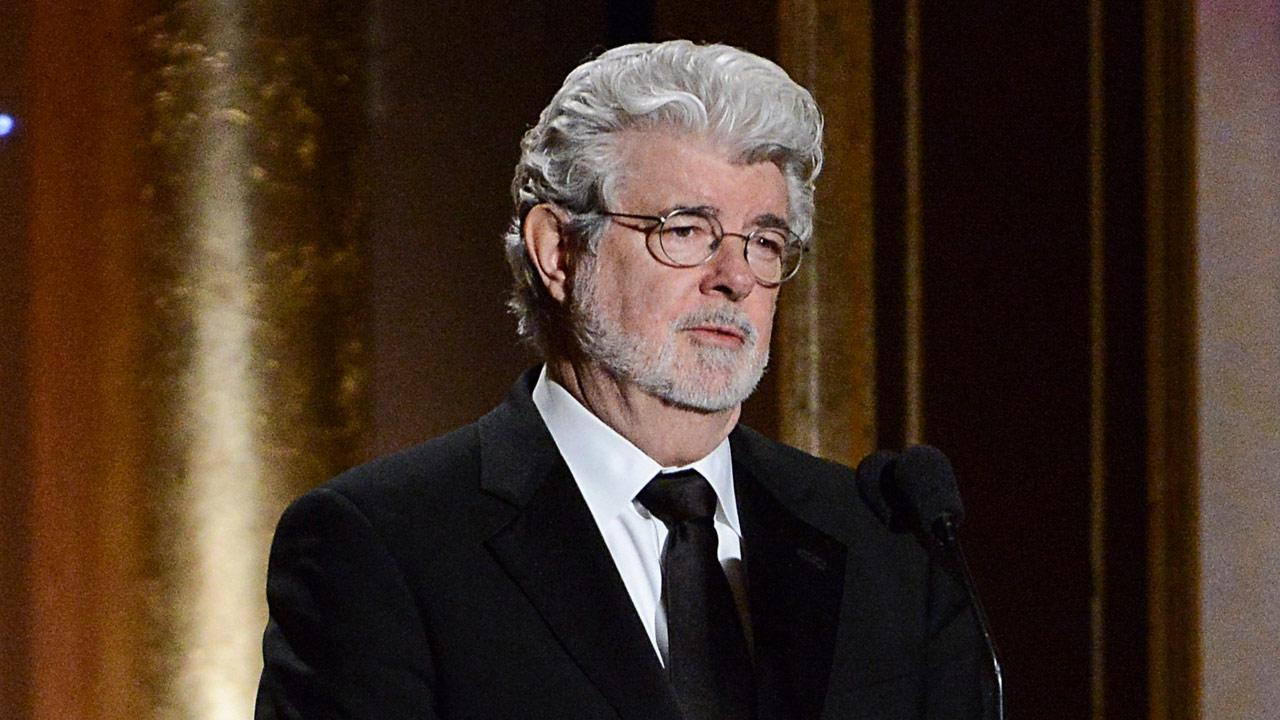 In this Nov. 16, 2013 file photo, Producer George Lucas speaks at the 2013 Governors Awards in Los Angeles.