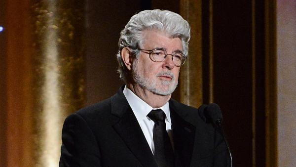 In this Nov. 16, 2013 file photo, Producer George Lucas speaks at the 2013 Governors Awards in Los Angeles. - Provided courtesy of Dan Steinberg/Invision/AP, file