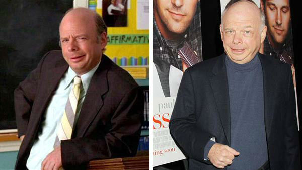 Wallace Shawn played the gullible and &#39;way harsh&#39; Mr. Hall in &#39;Clueless,&#39; Cher and Dionne&#39;s debate teacher. After both receiving unfavorable grades in his class, the duo devise a plan to make Mr. Hall happier, playing matchmaker between him and fellow teacher Ms. Geist.   Shawn was an established actor before taking on the role of Mr. Hall in &#39;Clueless,&#39; known for his role in the popular film &#39;The Princess Bride.&#39; Shawn has also starred in numerous television shows, such as &#39;Gossip Girl&#39; and &#39;The Good Wife&#39; and voiced the role of Rex in the &#39;Toy Story&#39; films.   &#40;Pictured: Left -- Wallace Shawn appears in a still from &#39;Clueless&#39;. Right -- Wallace Shawn appears at the New York City premiere of &#39;Admission&#39; on March 5, 2013.&#41; <span class=meta>(Paramount Pictures &#47; Dave Allocca &#47; startraksphoto.com)</span>