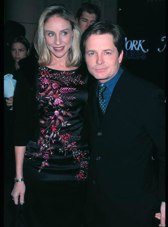 "<div class=""meta image-caption""><div class=""origin-logo origin-image ""><span></span></div><span class=""caption-text"">Michael J. Fox and wife Tracy Pollan appear at New York Magazine's 3rd annual NY Awards in New York on Dec. 18, 1998. The two married in July 1988 and are parents to four children - a son, and three daughters, including twins. (Startraksphoto.com)</span></div>"