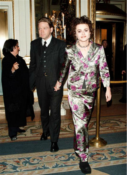 Helena Bonham Carter and director Kenneth Branagh appear at an after party for the premiere of &#39;The Theory of Flight&#39; at the Plaza Hotel in New York on Dec. 14, 1998. <span class=meta>(Startraksphoto.com)</span>