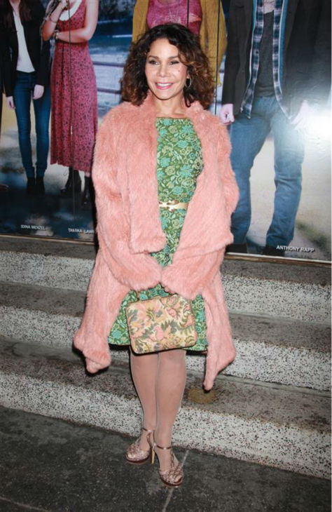 "<div class=""meta ""><span class=""caption-text "">Daphne Rubin-Vega attends the opening night of the new Broadway musical 'If/Then' at the Richard Rodgers Theatre in New York on March 30, 2014. Her former 'Rent' co-star, Idina Menzel, is one of the cast members. Rubin-Vega played Mimi in the 1990s musical, while Menzel portrayed Maureen. (Adam Nemser / Startraksphoto.com)</span></div>"
