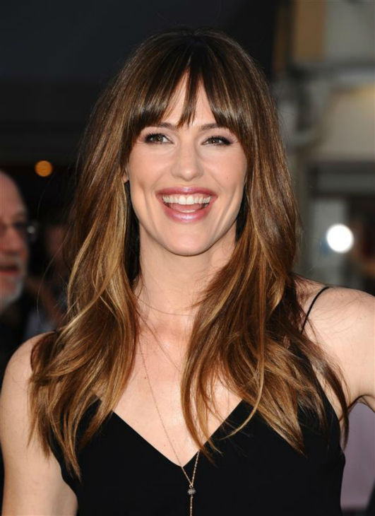 You&#39;d be smiling like Jennifer Garner if you had perfect hair.  &#40;Pictured: Jennifer Garner appears at the premiere of &#39;Draft Day&#39; in Westwood, near Los Angeles, on April 7, 2014.&#41; <span class=meta>(Sara De Boer &#47; Startraksphoto.com)</span>