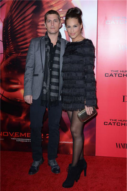Matchbox Twenty singer Rob Thomas and wife Marisol Thomas attend the premiere of &#39;The Hunger Games: Catching Fire&#39; in New York on Nov. 20, 2013. <span class=meta>(Humberto Carreno &#47; Startraksphoto.com)</span>