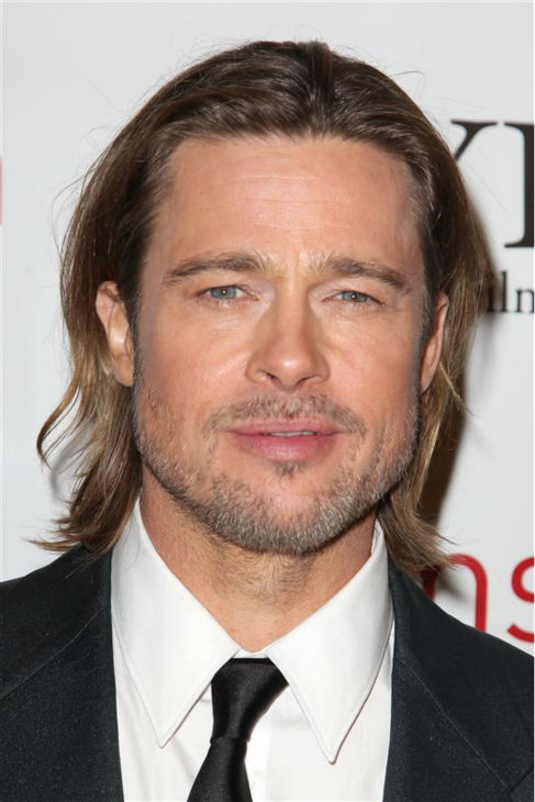 Brad Pitt appears at the 2012 New York Film Critics Circle Awards at the Crimson Club in New York on Jan. 1, 2012. <span class=meta>(Amanda Schwab &#47; Startraksphoto.com)</span>