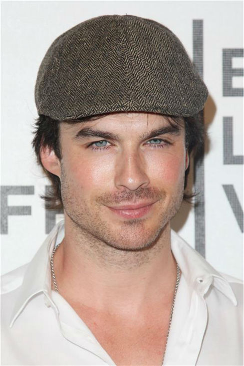 More of the &#39;Hipster&#39; stare: Ian Somerhalder appears at the premiere of &#39;Last Night&#39; at the Tribeca Film Festival in New York on April 25, 2011. <span class=meta>(Amanda Schwab &#47; Startraksphoto.com)</span>