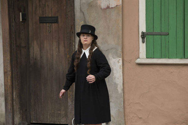 "<div class=""meta image-caption""><div class=""origin-logo origin-image ""><span></span></div><span class=""caption-text"">Jamie Brewer (Nan) appears on the premiere of 'American Horror Story: Coven,' which airs on FX on Oct. 9, 2013 at 10 p.m. ET. (Michele K. Short / FX)</span></div>"