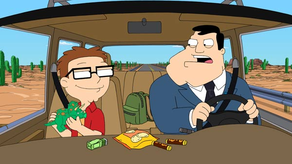 &#39;American Dad,&#39; FOX&#39;s animated TV series created by Seth MacFarlane, premieres on Sept. 30, 2012 and will air on Sundays from 9:30 to 10 p.m. <span class=meta>(FOX)</span>