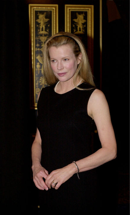 Kim Basinger arrives at the Sony luncheon during...