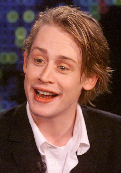Actor Macaulay Culkin is shown during an exclusive interview with talk show host Larry King on the CNN program 'Larry King Live' on Thursday, May 27, 2004, at the CNN studios in Los Angeles. Culkin, then 23, discussed his long show business career, his fa