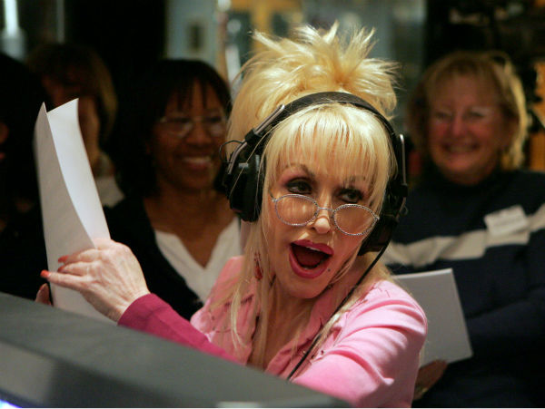 Country singer Dolly Parton rehearses the Oscar nominated best original song 'Travelin' Thru,' from the film 'Transamerica,' during a rehearsal for the 78th Academy Awards on Monday, Feb. 27, 2006, in the Hollywood section of Los Angeles.