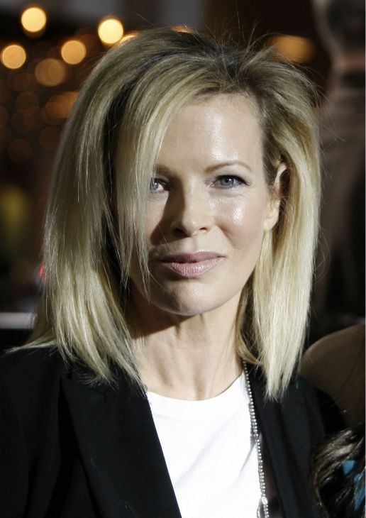 Kim Basinger arrives at the premiere of 'Twilight' in Los Angeles on Nov. 17, 2008.