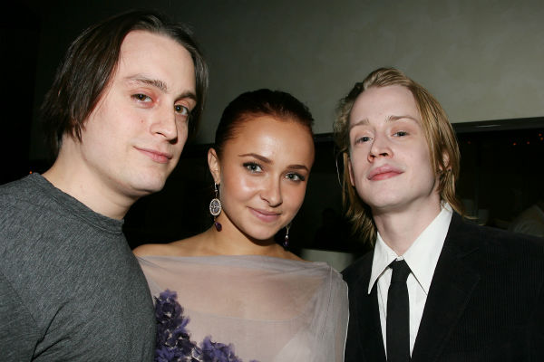 "<div class=""meta image-caption""><div class=""origin-logo origin-image ""><span></span></div><span class=""caption-text"">In this photo provided by StarPix, from left to right, Kieran Culkin, Hayden Panettiere and Macaulay Culkin attend the after party for the New York premiere of HBO film 'Temple Grandin' on Tuesday, Jan. 26, 2010.  (AP Photo / Dave Allocca, StarPix)</span></div>"