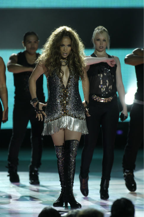 Jennifer Lopez performs during the World Music Awards in Monaco on Tuesday, May 18, 2010. <span class=meta>(AP Photo &#47; Joel Ryan)</span>