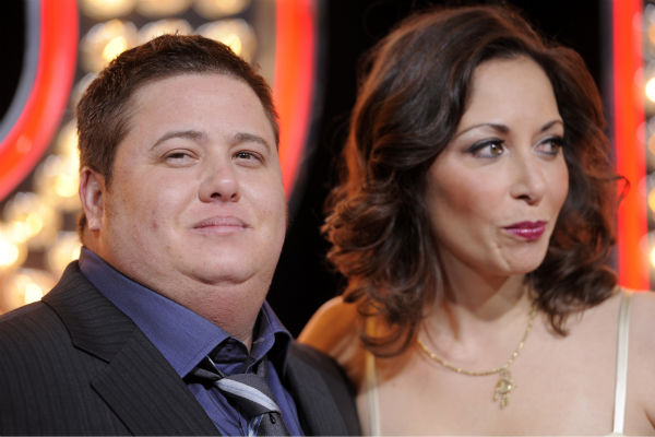 Chaz Bono, son of Cher, and his girlfriend...