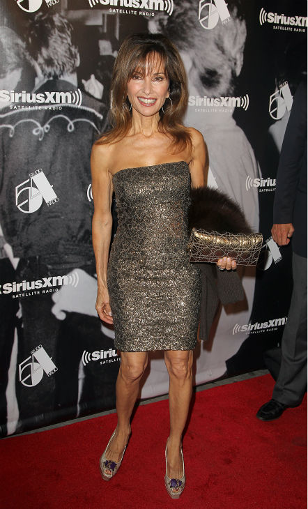 Actress Susan Lucci attends the Sirius XM reopening of Studio 54 for &#39;One Night Only&#39; at Studio 54 in New York City on Tuesday, Oct. 18, 2011. <span class=meta>(AP Photo &#47; Donald Traill)</span>