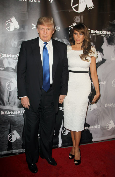 TV personality Donald Trump and wife Melania Trump attend the Sirius XM reopening of Studio 54 for &#39;One Night Only&#39; at Studio 54 in New York City on Tuesday, Oct. 18, 2011. <span class=meta>(AP Photo &#47; Donald Traill)</span>