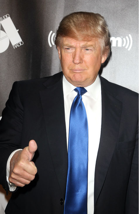 TV personality Donald Trump attends the Sirius XM reopening of Studio 54 for &#39;One Night Only&#39; at Studio 54 in New York City on Tuesday, Oct. 18, 2011. <span class=meta>(AP Photo &#47; Donald Traill)</span>