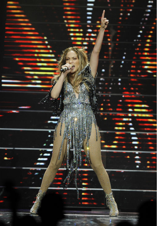 "<div class=""meta ""><span class=""caption-text "">Jennifer Lopez performs at Mohegan Sun during its 15th anniversary celebration in Uncasville, Connecticut on Saturday, Oct. 22, 2011. (AP Photo / Fred Beckham)</span></div>"
