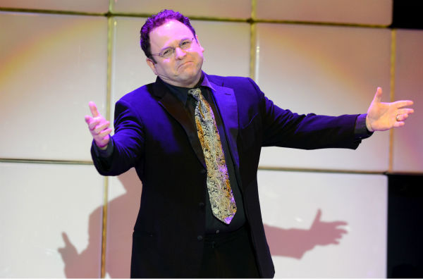 Jason Alexander performs at 'A Night at Sardi's' benefit for the Alzheimer's Association at the Beverly Hilton Hotel on March