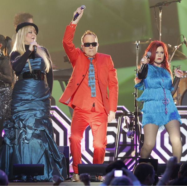 "<div class=""meta image-caption""><div class=""origin-logo origin-image ""><span></span></div><span class=""caption-text"">Members of the B-52's, from left, Cindy Wilson, Fred Schneider and Kate Pierson perform during the TV Land Awards on April 14, 2012 in New York. (AP Photo / Jason DeCrow)</span></div>"