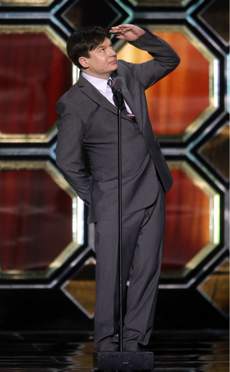 "<div class=""meta image-caption""><div class=""origin-logo origin-image ""><span></span></div><span class=""caption-text"">Mike Myers appears onstage during the TV Land Awards on April 14, 2012 in New York.  (AP Photo / Jason DeCrow)</span></div>"