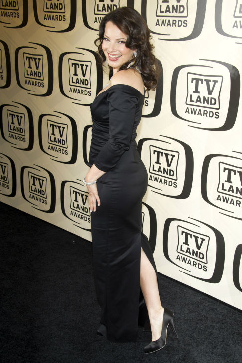 "<div class=""meta image-caption""><div class=""origin-logo origin-image ""><span></span></div><span class=""caption-text"">Fran Drescher arrives to the TV Land Awards 10th Anniversary in New York on April 14, 2012. (AP Photo / Charles Sykes)</span></div>"