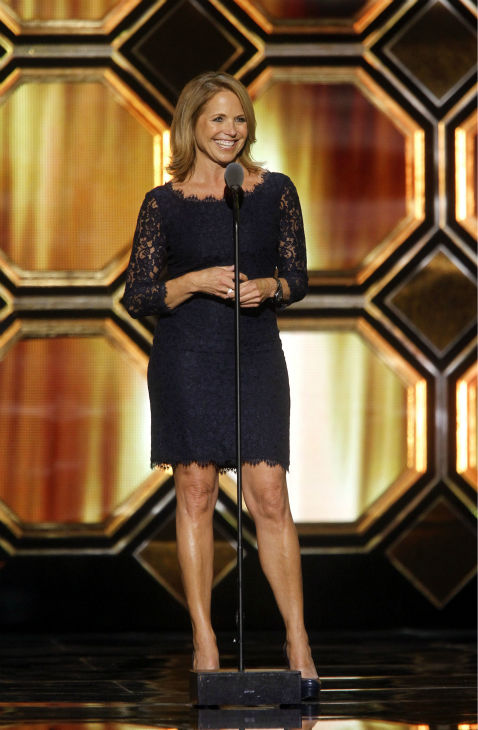 "<div class=""meta image-caption""><div class=""origin-logo origin-image ""><span></span></div><span class=""caption-text"">Katie Couric appears onstage during the TV Land Awards on April 14, 2012 in New York. (AP Photo / Jason DeCrow)</span></div>"