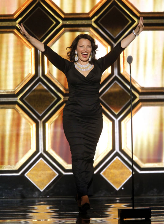 "<div class=""meta image-caption""><div class=""origin-logo origin-image ""><span></span></div><span class=""caption-text"">Fran Drescher appears onstage during the TV Land Awards on April 14, 2012 in New York. (AP Photo / Jason DeCrow)</span></div>"