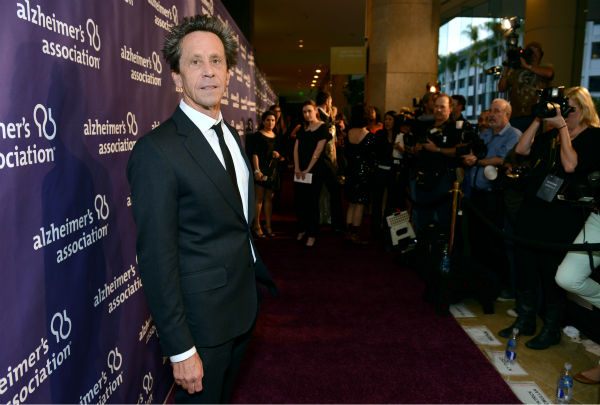 Producer Brian Grazer arrives at the 21st Annual 'A Night at Sardi's' to benefit the Alzh